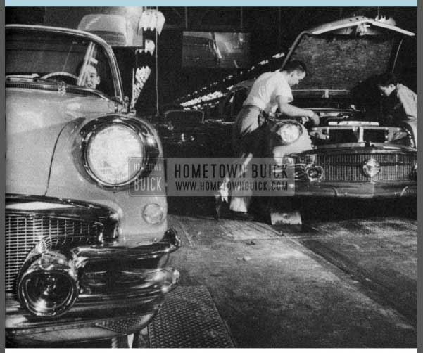 1956 Buick Assembly Line