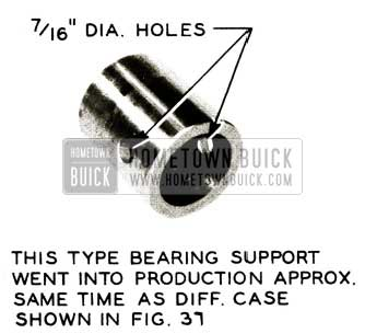 1956 Buick Bearing Support