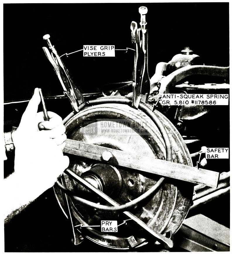 1956 Buick Brake Anti-Squeak Spring