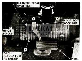 1956 Buick Brake Pedal Correction