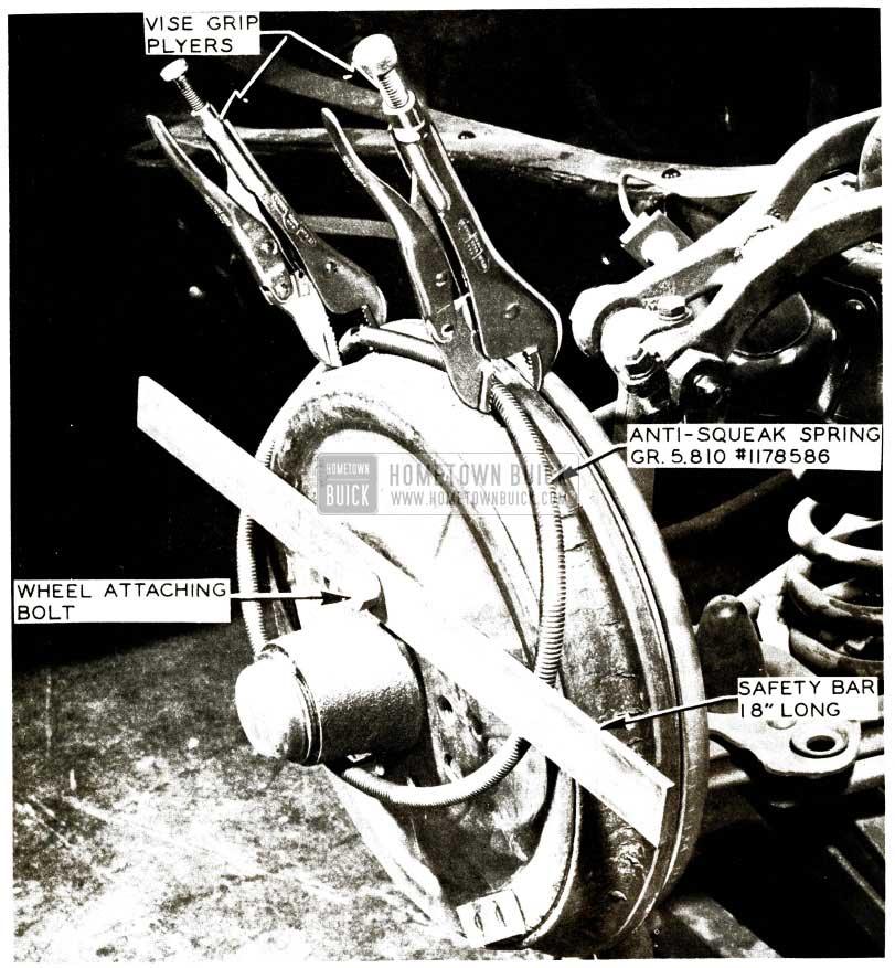 1956 Buick Brake Squeak Correction
