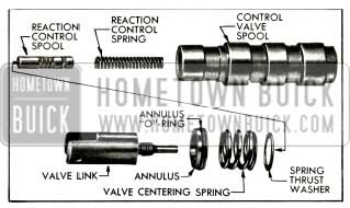 1956 Buick Control Valve Spool Assembly