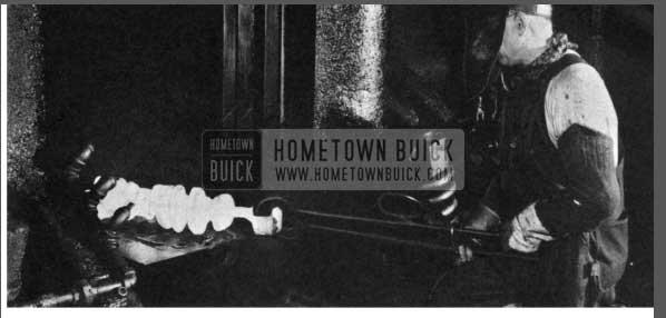 1956 Buick Crankshaft Fabrication