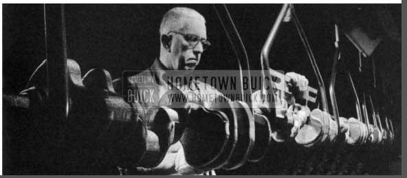 1956 Buick Crankshaft Line