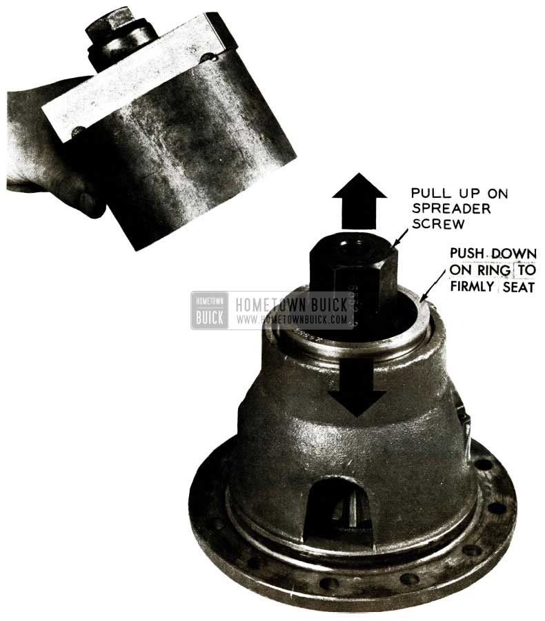 1956 Buick Differential Bearing Remover