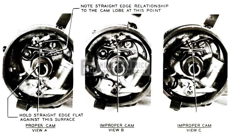 1956 Buick Distributor Rotor Tips