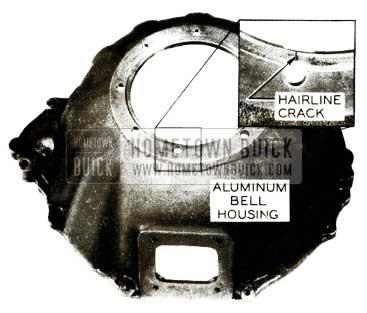 1956 Buick Dynaflow Aluminum Bell Housing