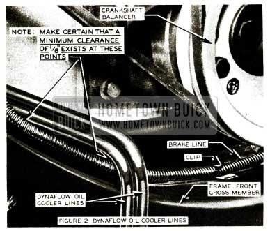 1956 Buick Dynaflow Oil Cooler Lines