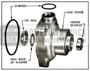 1956 Buick End Cover Bearing and Seals Assembly