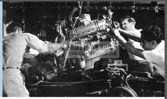 1956 Buick Engine Installation