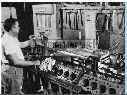 1956 Buick Engine Piston Installation