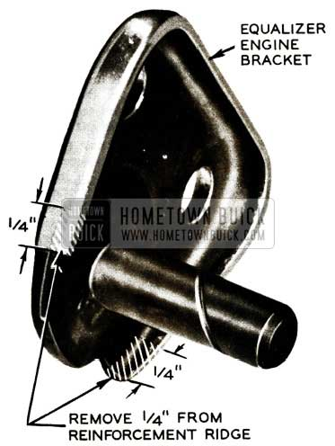 1956 Buick Equalizer Engine Bracket