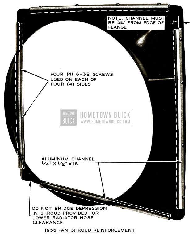 1956 Buick Fan Shroud