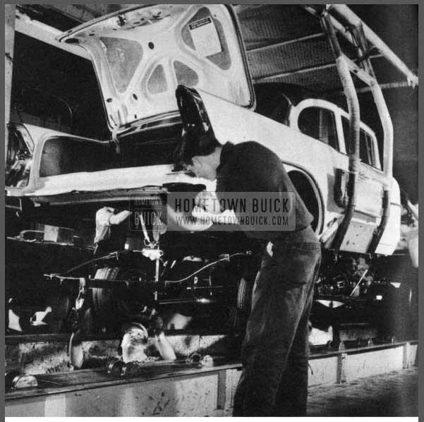 1956 Buick Final Assembly