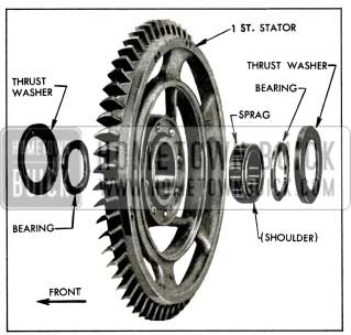 1956 Buick First Stator Parts