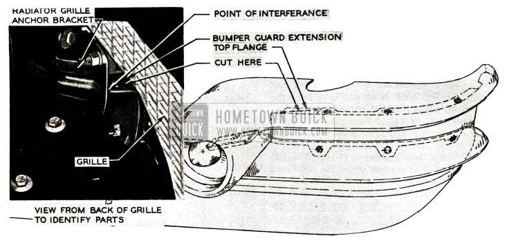 1956 Buick Front Bumper Rattles