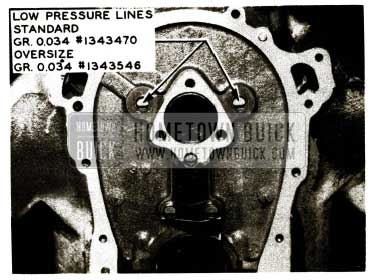 1956 Buick Front Low Pressure Lines