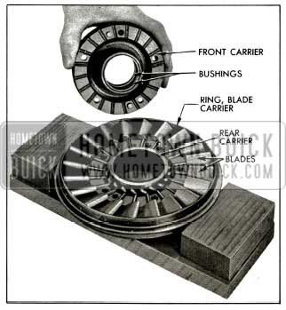 1956 Buick Front of Stator Assembly