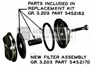 1956 Buick Gasoline Filter