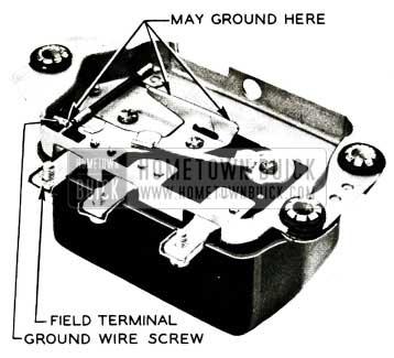 1956 Buick Grounded Regulators