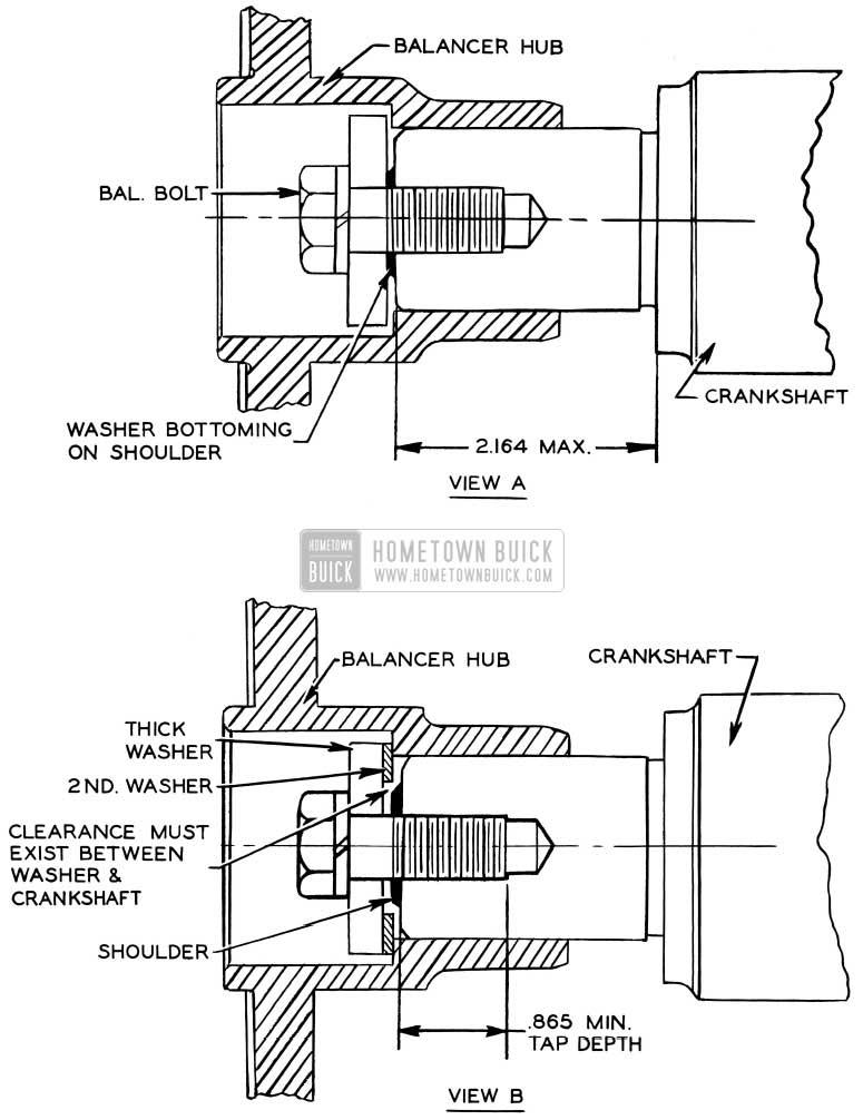 1956 Buick Harmonic Balancer Hub