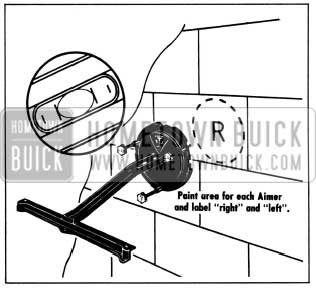 1956 Buick Headlight Adjusting Pointer