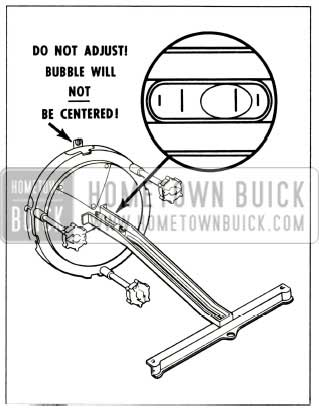 1956 Buick Headlight Adjusting