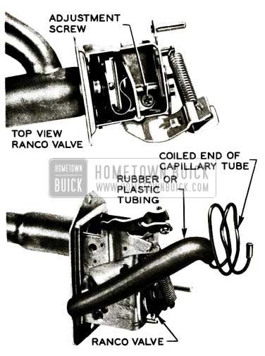 1956 Buick Heater Temperature Control Ranco Valve