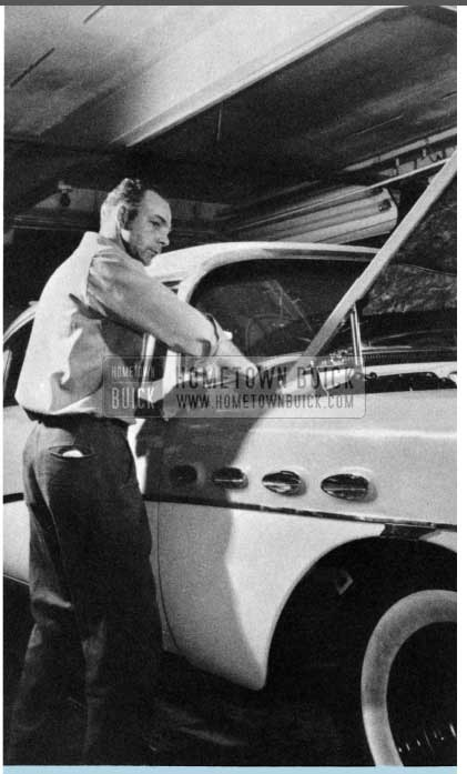 1956 Buick Hood Adjustment