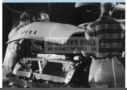 1956 Buick Hood Installing