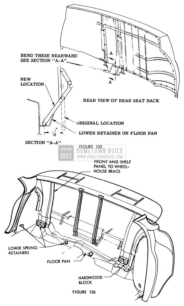 1956 buick body maintenance hometown buick Power Booster Diagram 1956 buick increasing rear seat back angle