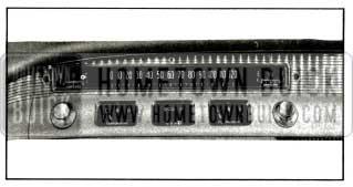 1956 Buick Instrument Arrangement