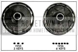 1956 Buick Low Range Reaction Gear and Keys