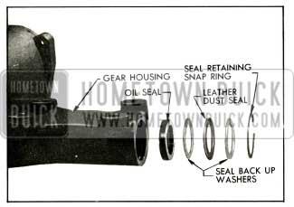 1956 Buick Pitman Shaft Seal Assembly