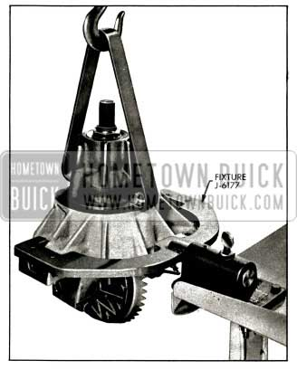 1956 Buick Placing Carrier in Holding Fixture