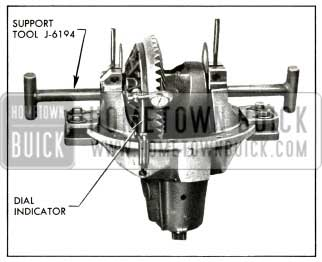 1956 Buick Positioning Differential for Correct Backlash