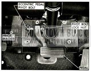 1956 Buick Power Brake Suspended Pedal