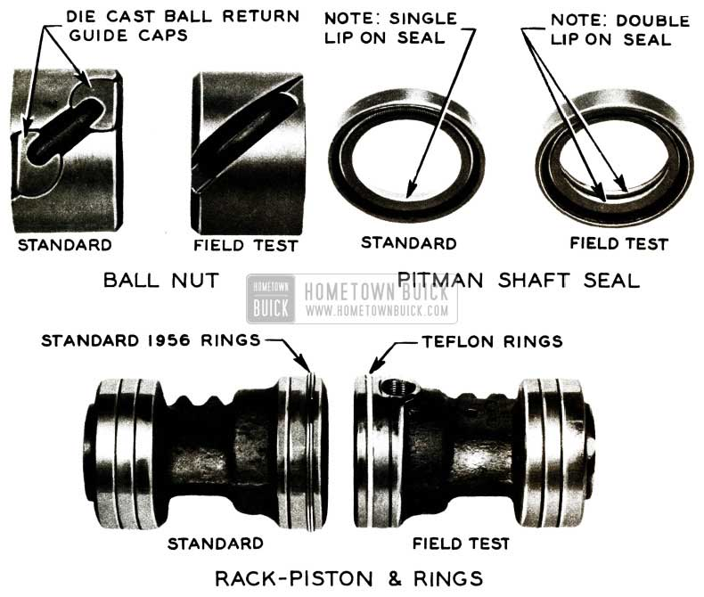 1956 Buick Power Steering Changes
