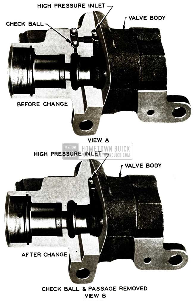 1956 Buick Power Steering Pump Check Ball