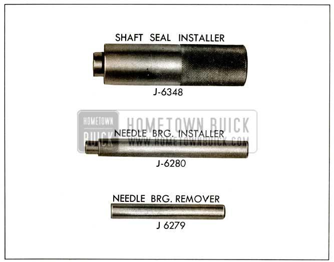 1956 Buick Power Steering Pump Tools