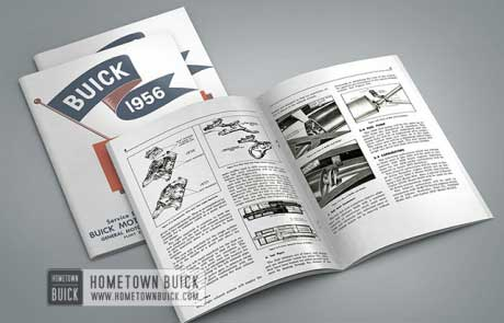 1956 Buick Product School Manual - 02