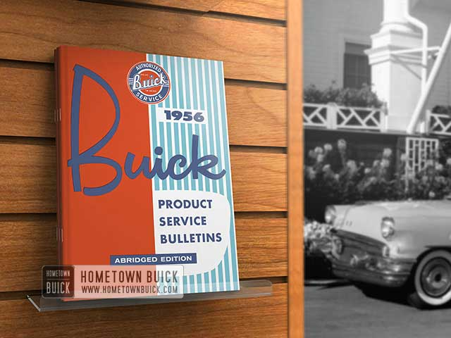 1956 Buick Product Service Bulletins AE