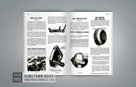1956 Buick Product Service Bulletins AE - 04
