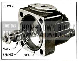 1956 Buick Pump Cover and Control Valve