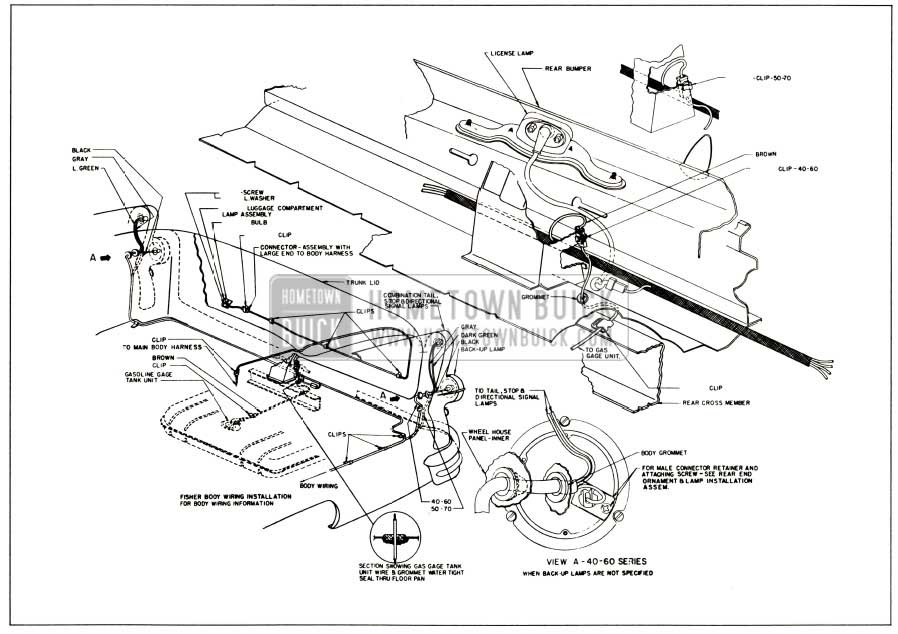 1961 chevy starter wiring diagram