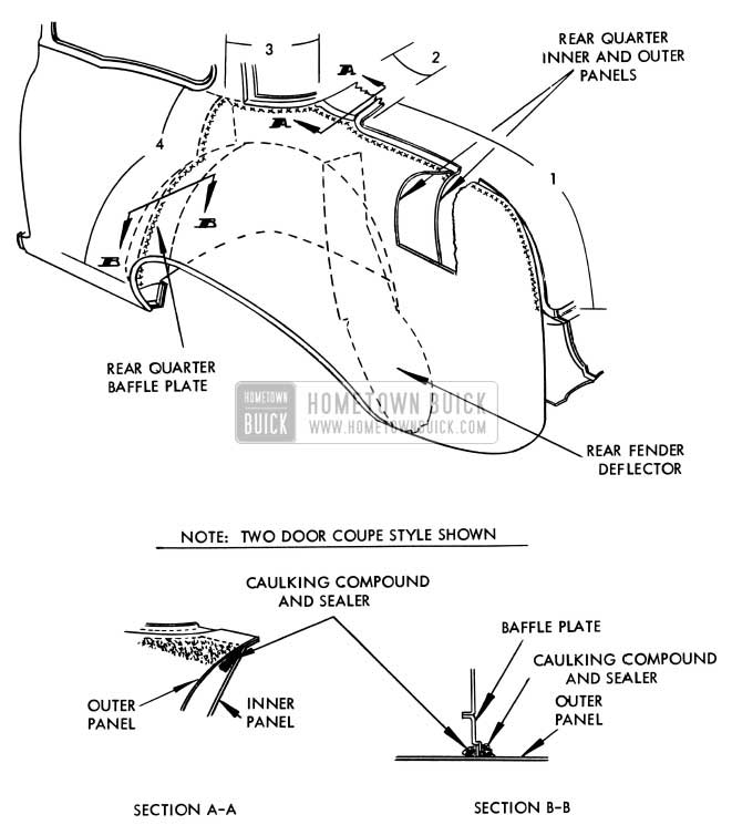 1956 Buick Rear Quarter Outer Panel Replacement