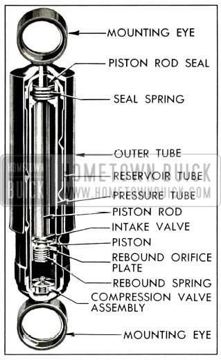 1956 Buick Rear Shock Absorber