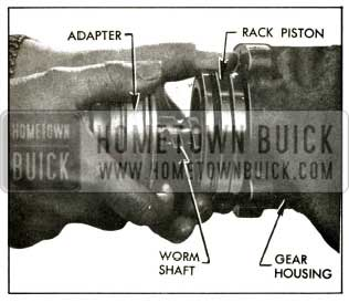 1956 Buick Removing Back-Piston and Worm Assembly