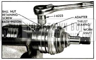 1956 Buick Removing Ball Nut Retaining Screw