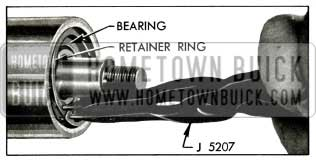 1956 Buick Removing Bearing Retaining Ring
